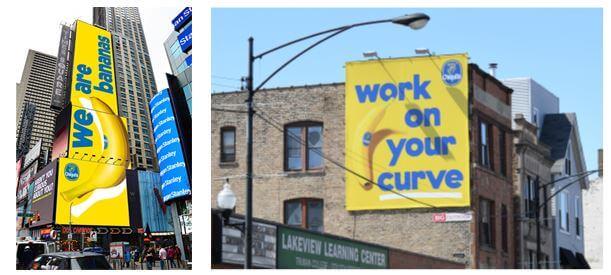 Οι υπαίθριες διαφημίσεις της καμπάνιας «We Are Bananas» τιμήθηκαν με τα βραβεία The Drum® Awards