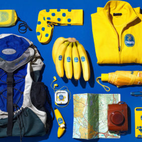 Backpacking με μια μπανάνα Chiquita – το υγιεινό και εύκολο σνακ