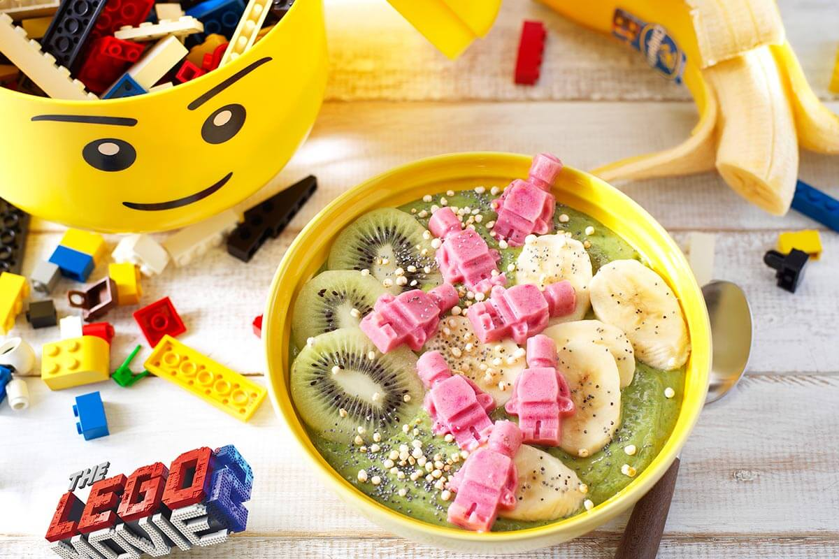 Μπολ με smoothie μπανάνας Chiquita με μάτσα του Μπανάρναρ
