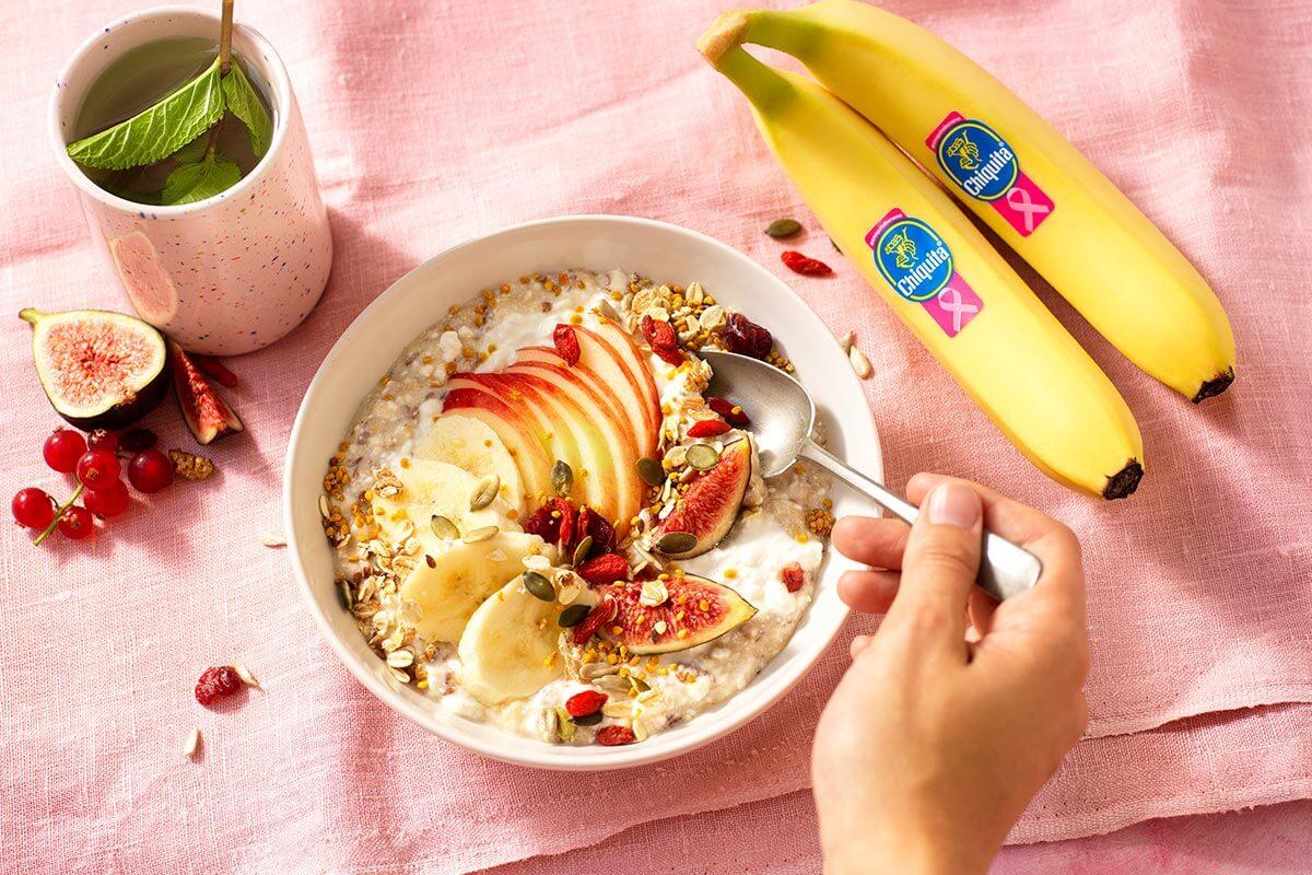 Κρέμα Budwig με μπανάνα Chiquita