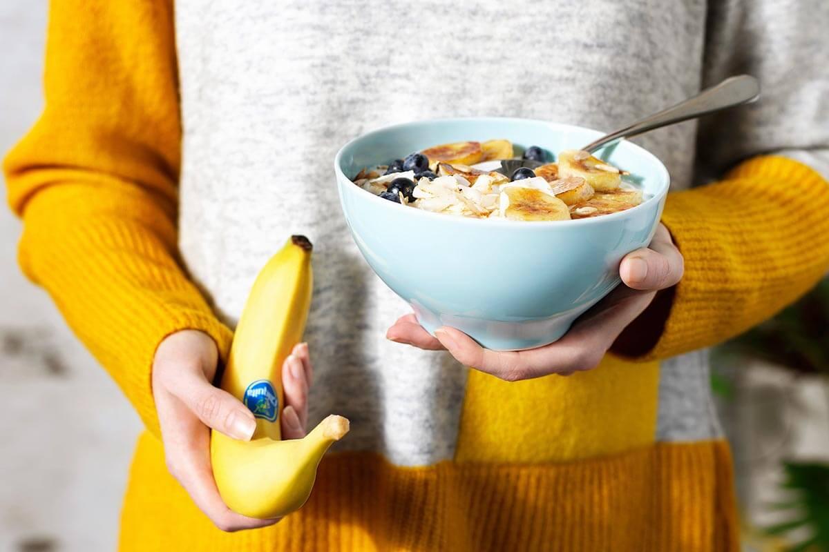 Χειμερινό smoothie με μπαχαρικά και μπανάνες Chiquita