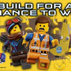 Η Chiquita συνεργάζεται με το νέο κινηματογραφικό σίκουελ της ΤΑΙΝΙΑΣ LEGO® 2: ΤΟ ΔΕΥΤΕΡΟ ΜΕΡΟΣ