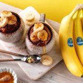 Μάφιν σε κούπα με μπανάνα Chiquita