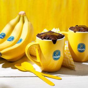 Brownie σε κούπα με μπανάνα Chiquita