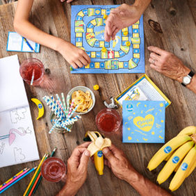 Η Chiquita τρελαίνεται για τις πολύτιμες οικογενειακές στιγμές