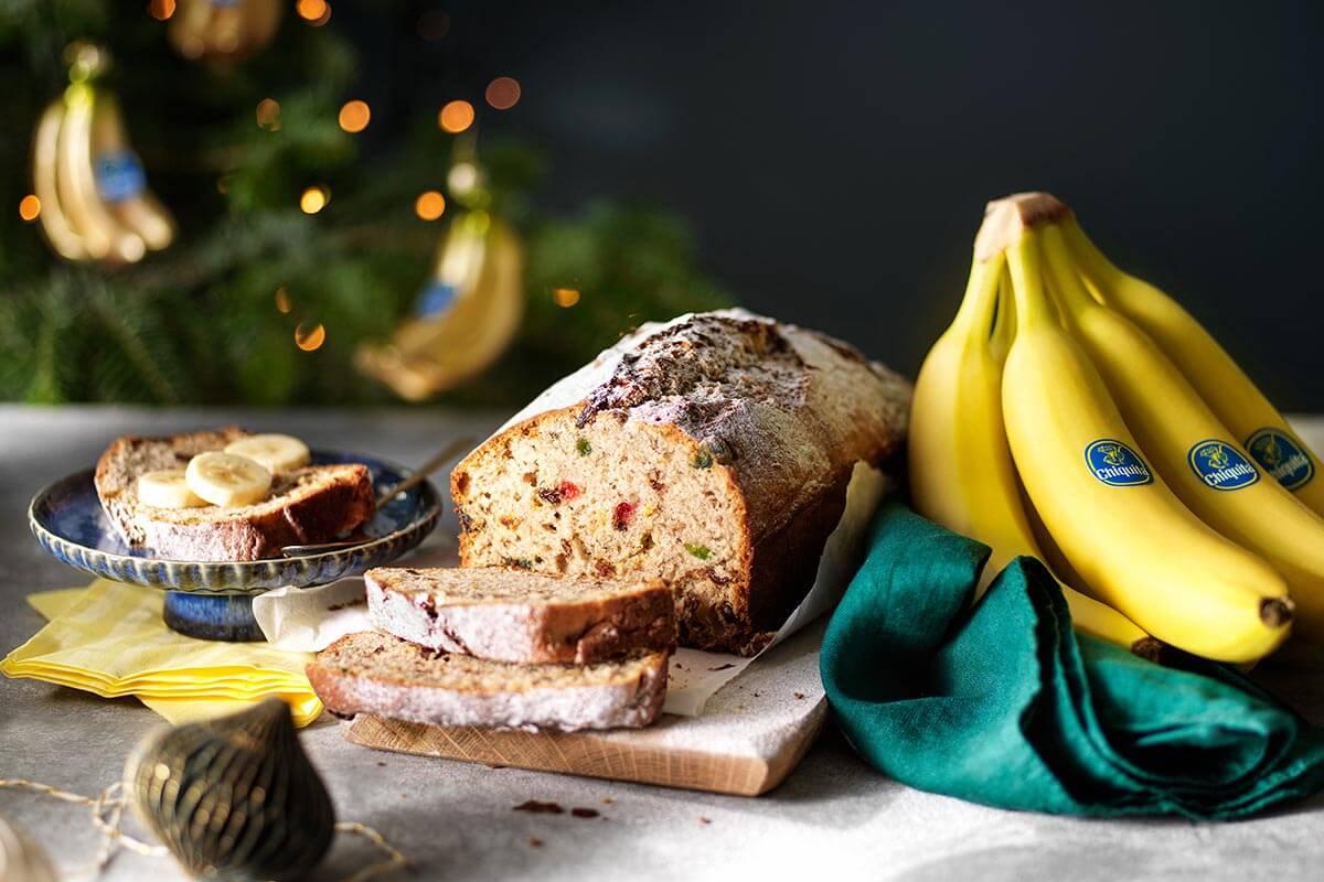 Χριστουγεννιάτικο μπανανόψωμο Chiquita