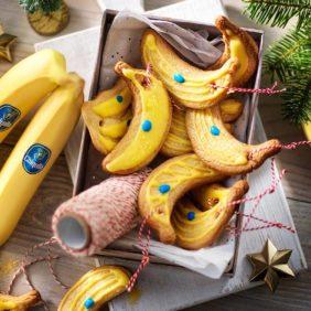 Χριστουγεννιάτικα μπισκότα μπανάνας Chiquita
