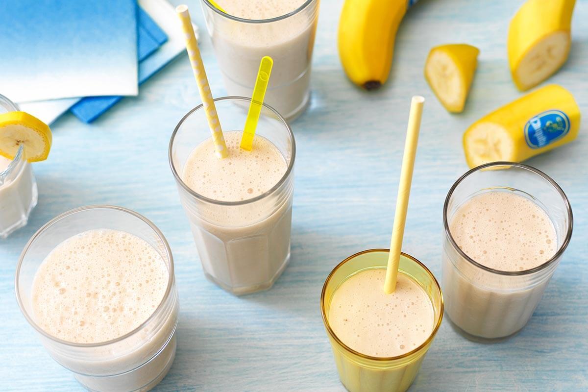 Εύκολο shake μπανάνας