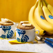 Εύκολο μπανανόψωμο σε κούπα με μπανάνα Chiquita