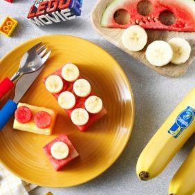 Τουβλάκια φρούτων του Έμμετ με μπανάνα Chiquita από το Μπρίκσμπεργκ