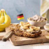 Γερμανικό ψωμί Vollkornbrot με μπανάνα Chiquita και καρύδα