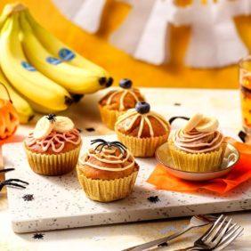 Μάφιν κολοκύθας με μπανάνα Chiquita για το Halloween| συνταγές μπανάνας