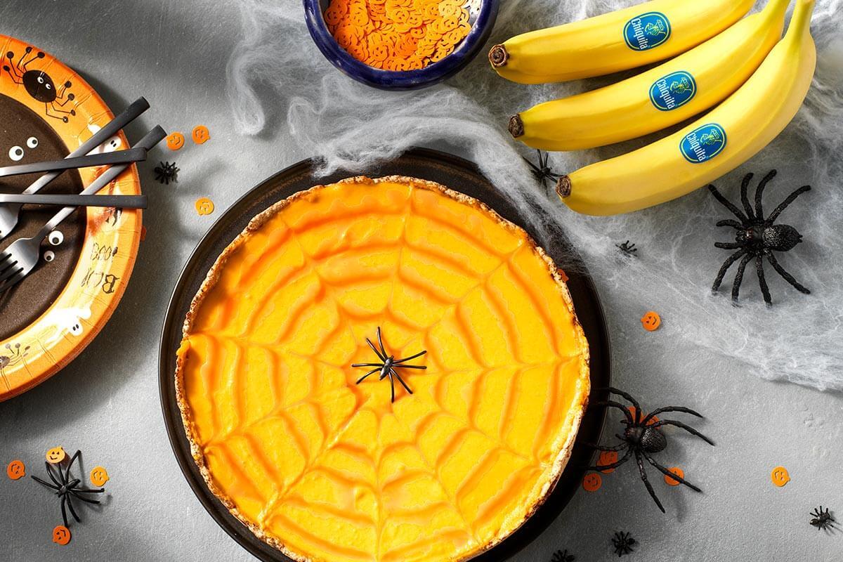 Κολοκυθόπιτα με μπανάνα Chiquita για το Halloween| συνταγές μπανάνας