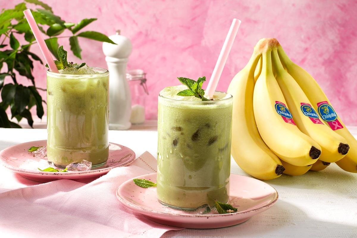 Παγωμένο τσάι λάτε με μπανάνες Chiquita