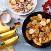 Kaiserschmarrn με μπανάνα Chiquita και κόκκινα μούρα