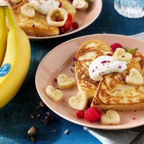 Τρεις συνταγές με μπανάνες Chiquita για την Ημέρα του Αγίου Βαλεντίνου που σίγουρα θα αγαπήσετε