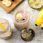 Πρωτεϊνούχο ρόφημα βανίλιας με ώριμες μπανάνες Chiquita