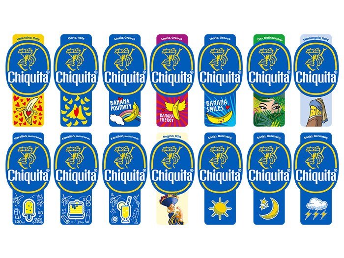Fuel The Fun Stickers Chiquita