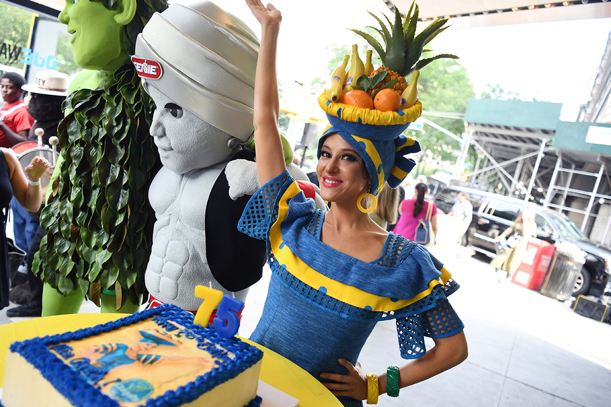 Miss Chiquita, our brand icon