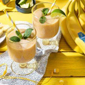 Εξωτικό smoothie με μπανάνες Chiquita και γιαούρτι