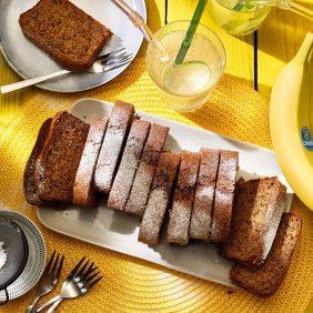 Vegan ψωμί με φυστικοβούτυρο και μπανάνες Chiquita