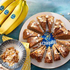 Ψωμί καρύδας με μπανάνες Chiquita