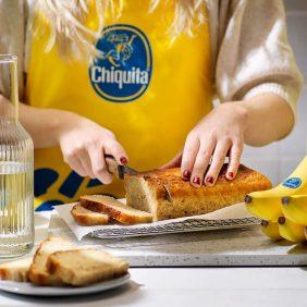 Μπανανόψωμο με 3 υλικά από την Chiquita