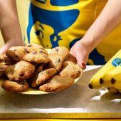 Εύκολα μπισκότα με κομματάκια σοκολάτας και μπανάνα Chiquita