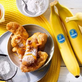 Εύκολη συνταγή για τηγανητές μπανάνες Chiquita