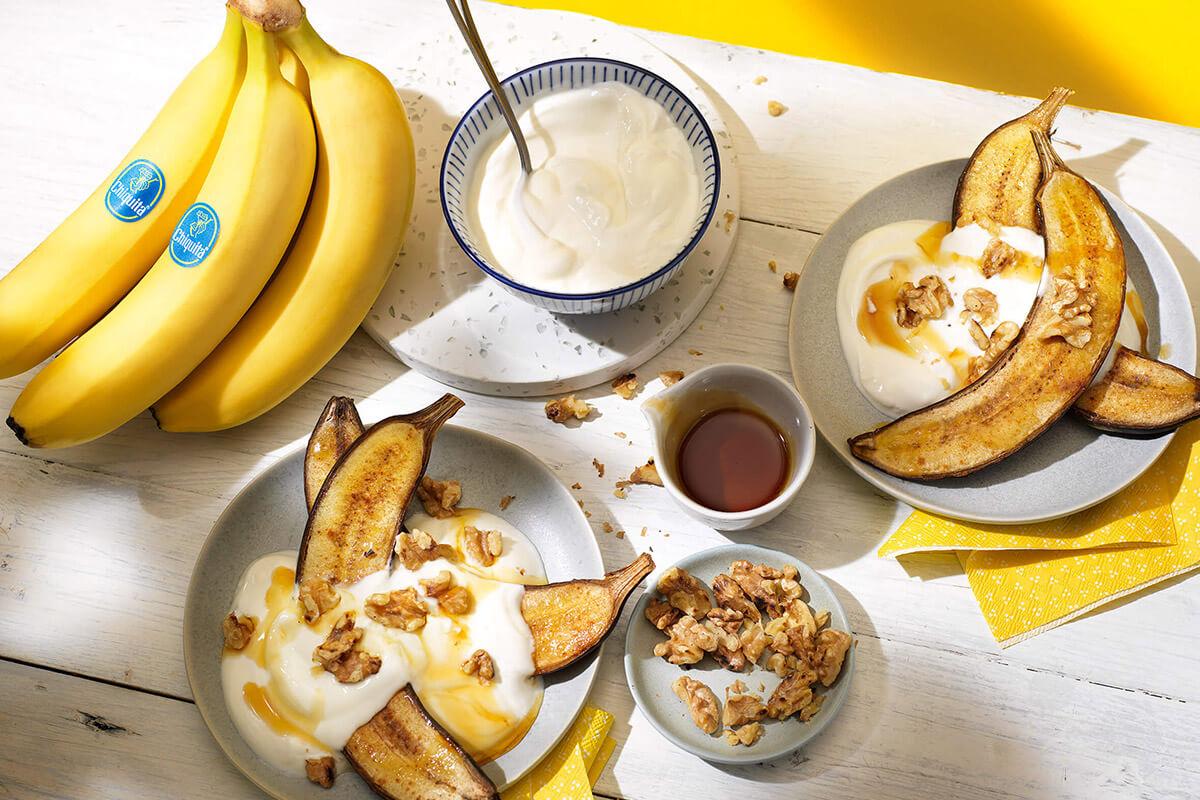 Γρήγορη συνταγή για μπανάνες Chiquita στο γκριλ