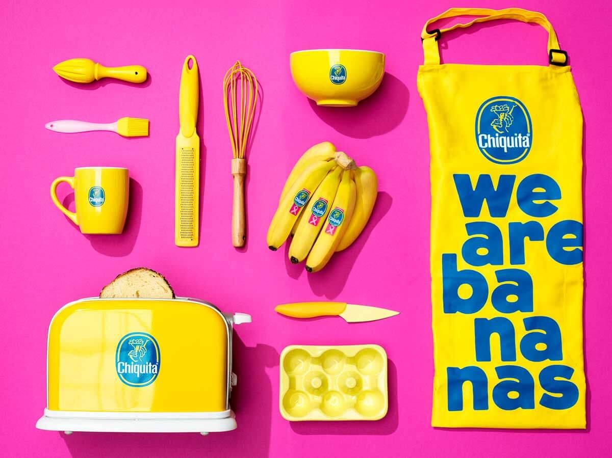 Chiquita Ροζ Αυτοκόλλητο τρόποι μαγειρέματος