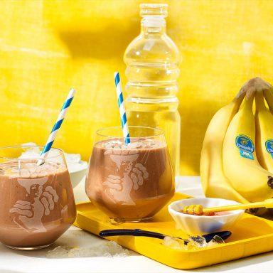 Ρόφημα Πρωτεΐνης με Μπανάνα Chiquita για Μετά την Προπόνηση