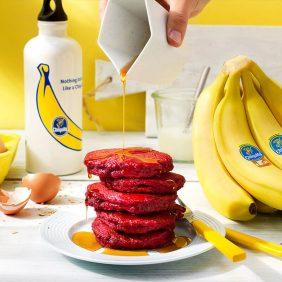 Τηγανίτες με Μπανάνα Chiquita και Παντζάρι για Sumo Squat