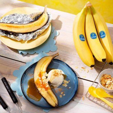 BBQ Chiquita banana split