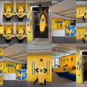 Δηλώστε συμμετοχή στo #ChiquitaChallenge με τον καταπληκτικό Bananaman