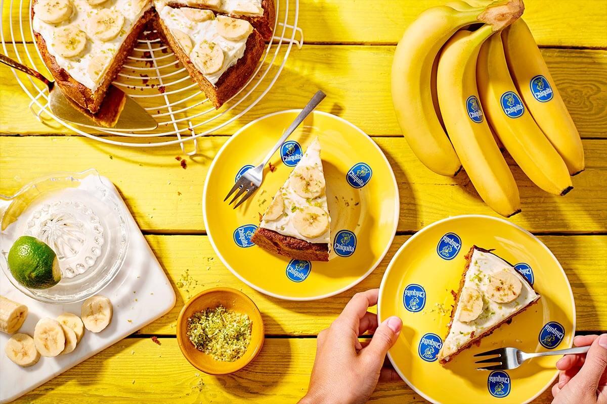Κέικ Καρότου με Μπανανόψωμο Chiquita