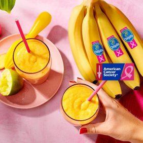 Smoothie από μπανάνες Chiquita με αχλάδια και κουρκουμά