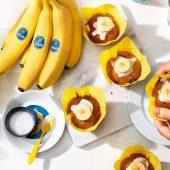 Vegan Cupcake με Κρέμα Μπανάνας Chiquita