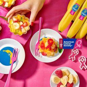 Υγιεινή φρουτοσαλάτα ζελέ με μπανάνες Chiquita