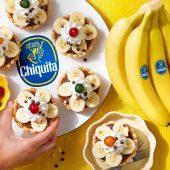 Ρετρό ταρτάκια με μπανάνα Chiquita και κρέμα σοκολάτας