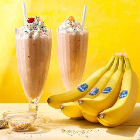 Βίντατζ Μιλκσέικ Βανίλια με Μπανάνες Chiquita