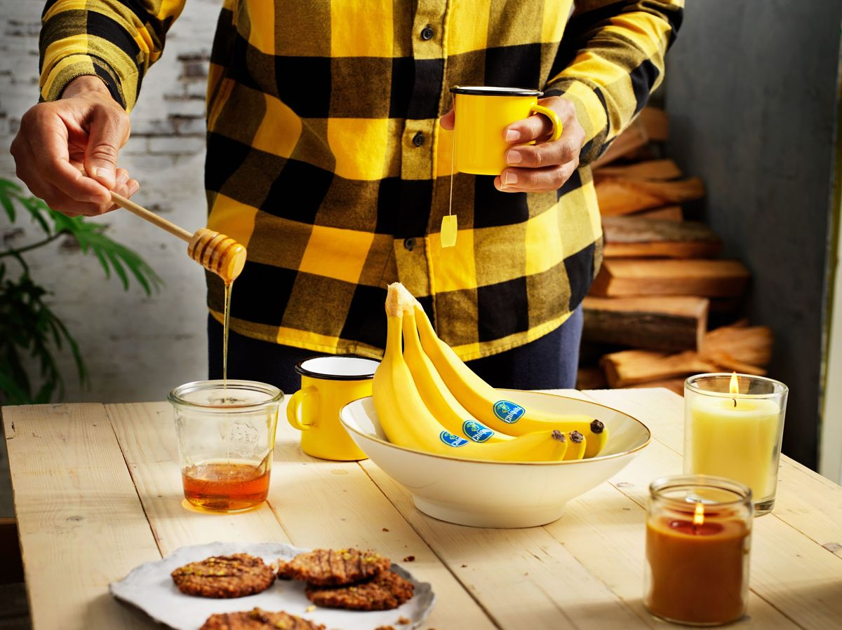 Chiquita φλούδα μπανάνας