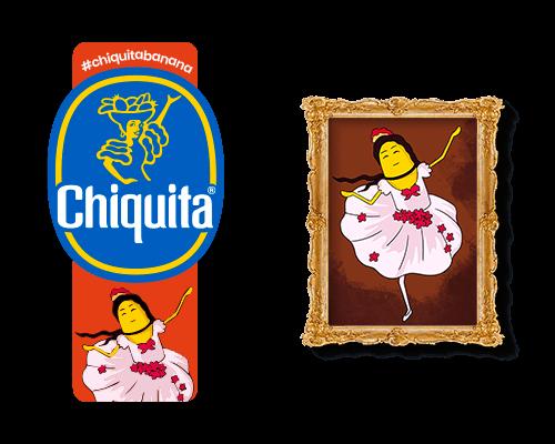 Chiquita-Artist-Sticker_Edgar_degas