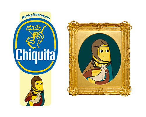 Chiquita-Artist-Sticker_Leonardo_Da_Vinci