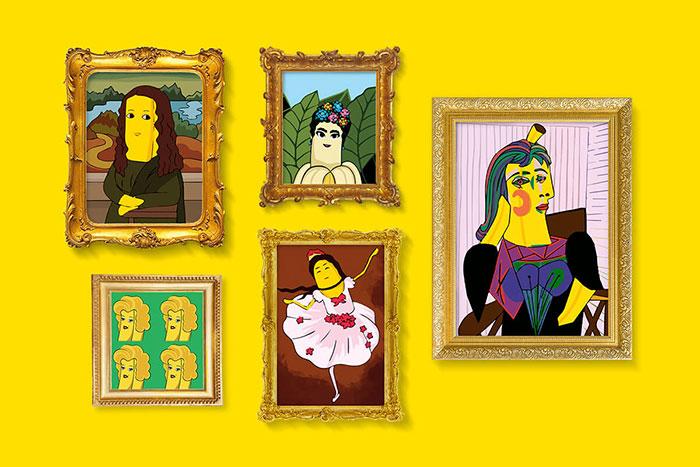 Εσείς ποιο αριστούργημα Chiquita είστε;