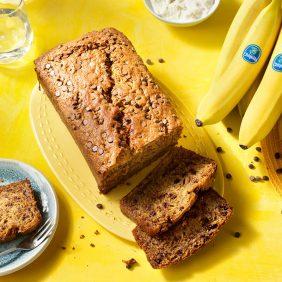 Banana Bread με Κομματάκια Σοκολάτας από την Chiquita