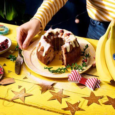 Χριστουγεννιάτικο Banana Bread από την Chiquita