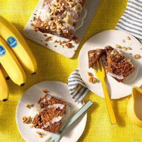 Banana Bread Χωρίς Αυγά από την Chiquita