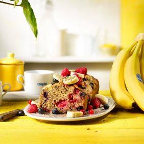 Banana Bread Χωρίς Γλουτένη από την Chiquita