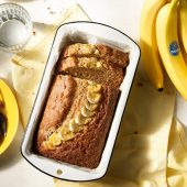 Banana Bread Χωρίς Ζάχαρη από την Chiquita